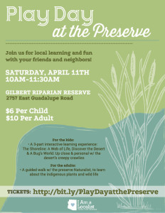 Fun Family Event in Gilbert AZ at the Preserve