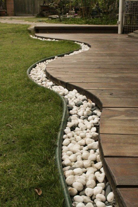 Rain chain diy inexpensive elegance lux home group at for Rainwater drain problems