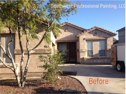 Southwest Professional Painting, LLC - before