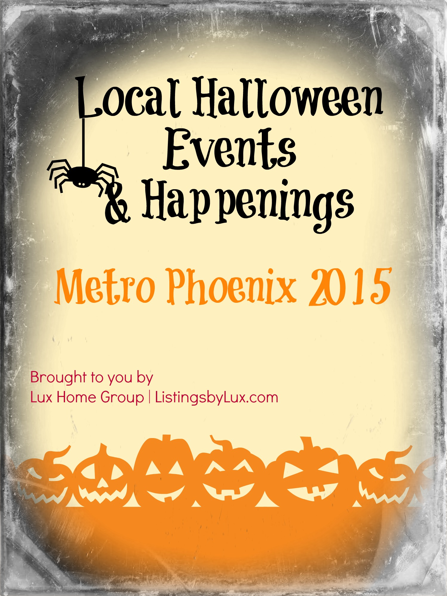 Local Halloween Family Events & Happenings - Metro Phoenix 2015